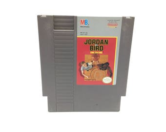 Jordan vs. Bird: One-on-One (Nintendo Entertainment System, 1989) NES, tested and works great