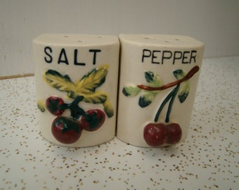 Cherry Salt and Pepper Shakers  #4