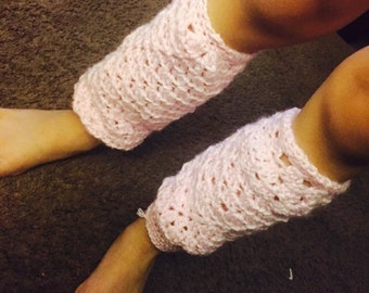 Toddler preschooler leg warmers