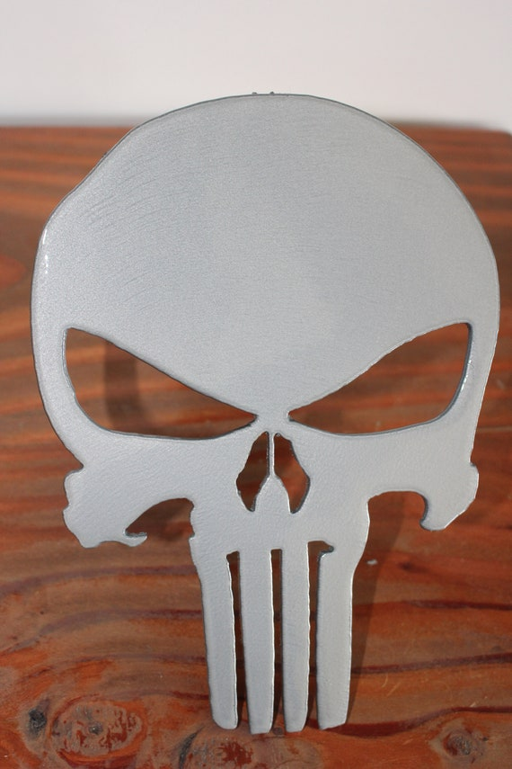 Punisher Hitch Cover Chrome