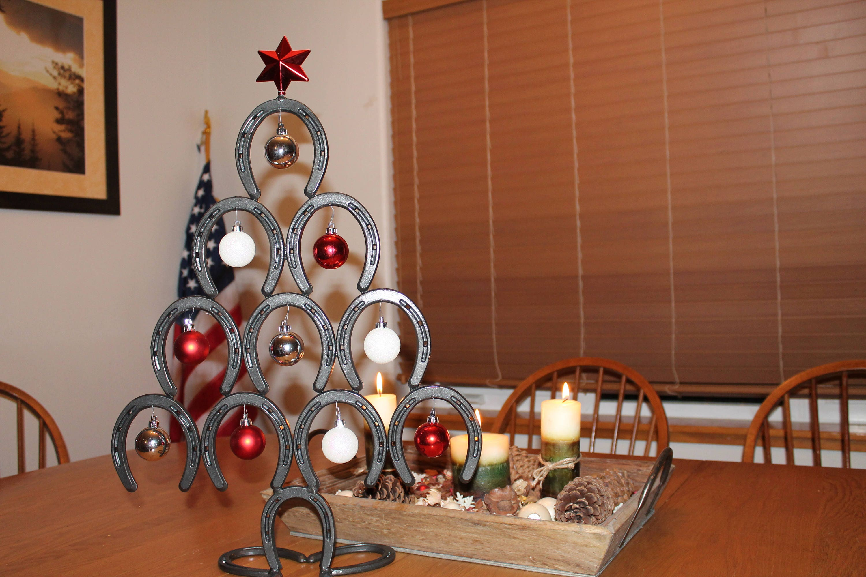 1 - Horseshoe Christmas Tree