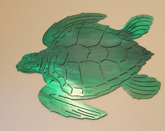 Turtle Wall Art green