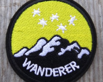 Wanderer Fallout Inspired Cosplay patch sew on iron on backing 45149002651b