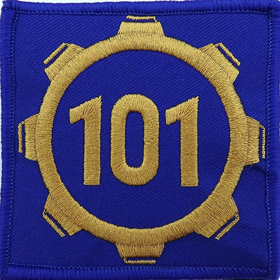 Vault 101 Fallout Style Patch Cosplay 3x3 Inches  84f0bb0b8924