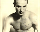PSA DNA Max Baer Signed Photograph Dated 1938