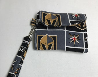 The Champion: Wallet (Vegas Golden Knights Print)