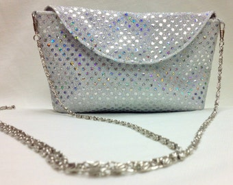 The Silver Lining: Convertible Cross-Body / Clutch Purse