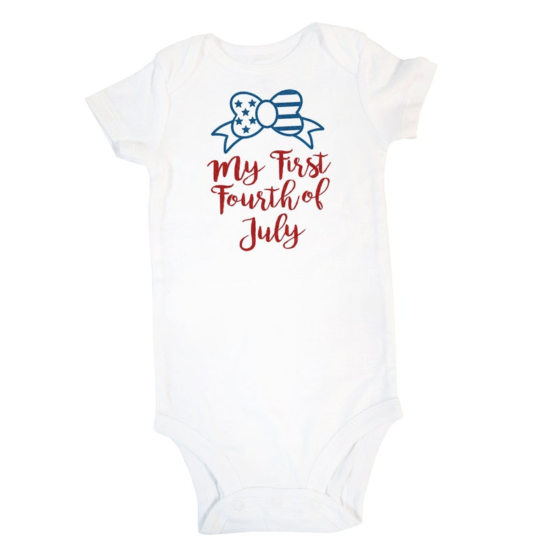 c5d67d85c My First Fourth Of July Onesie My First Fourth Of July 4th | Etsy