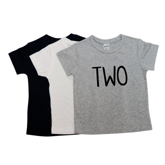 Toddler Boys Second Birthday Tshirt 2nd Boy