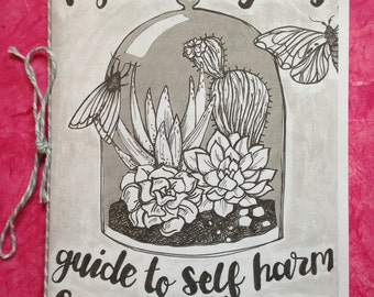 Hysterical Girls Zine about self harm, scars and stigma