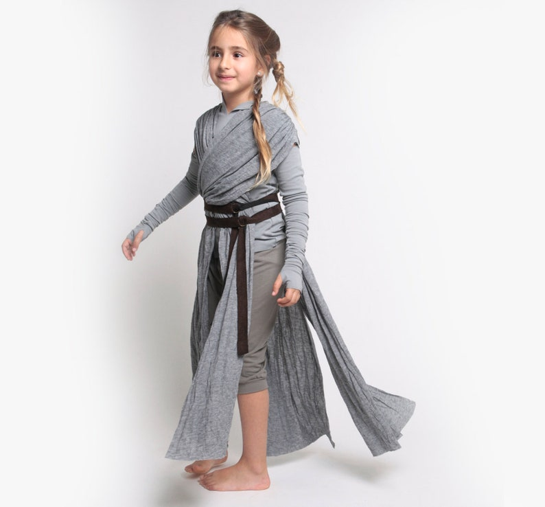 Der Letzte Jedi Jedi Kostüm Rey Rey Cosplay Kostüm Star Etsy