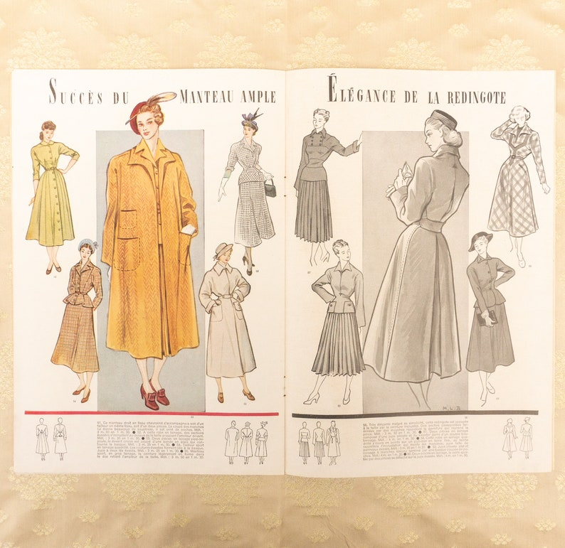 French Modes Travaux 19471948