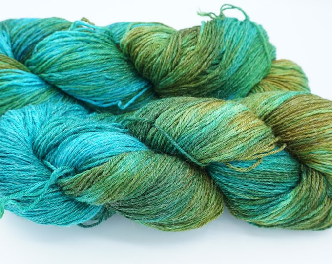 Pedicure Deluxe Sock Yarn - Red, Green & Blue