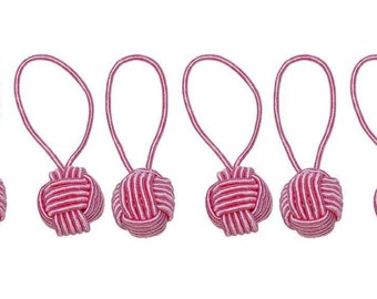 Hiya Hiya Pink Yarn Ball Stitch Markers