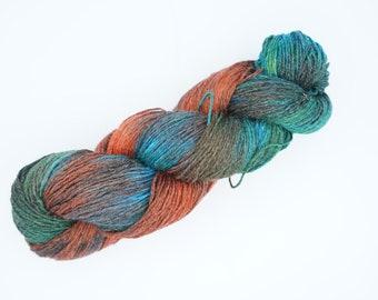 Pedicure Deluxe Sock Yarn - Red, Green & Blue