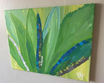 Agave Painting Mosaic