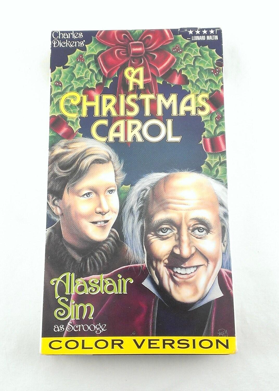 Ein Weihnachten Carol VHS Tape Farb-Stereo-Version Charles | Etsy