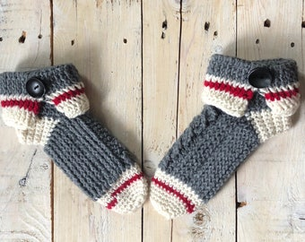 1da70db8c89 Sock monkey slippers