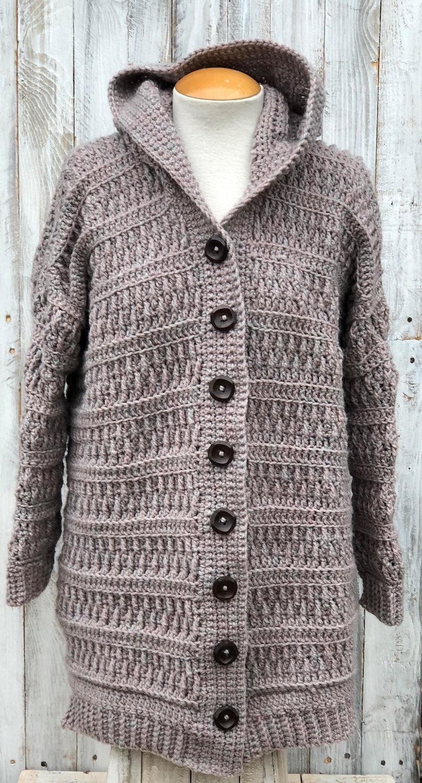 d470b0e24 Crochet cardigan Crochet Cardigan Pattern Crochet hooded