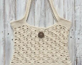 Crochet beach bag, crochet beach purse, crochet beach tote, crochet purse, crochet tote, summer crochet bag, summer bag, summer beach bag