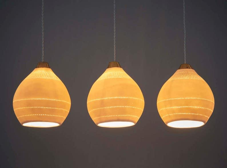 Modern Pendant Lighting. Dining Room Lights. Modern Lamps. Lamp Shades.  Island Lights.