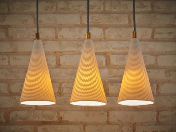 Pendant lights. Kitchen lighting. Lamp shades. Hanging lights. Lamps.  Lighting. Made to order.