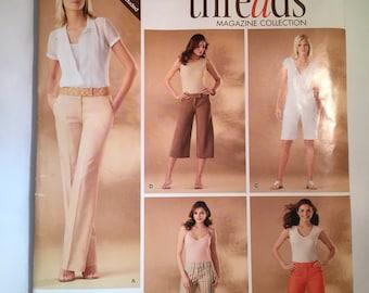 Simplicity Sewing Pattern 5921 Women's Slacks and Capris Size H5 - 6 thru 14