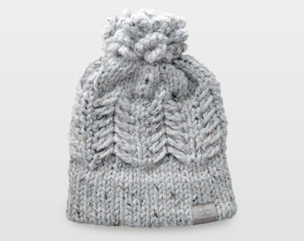 Pine Ridge • Beanie • Chunky Knit • Colour: EARL GREY