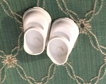 vintage small slip on dog shoes