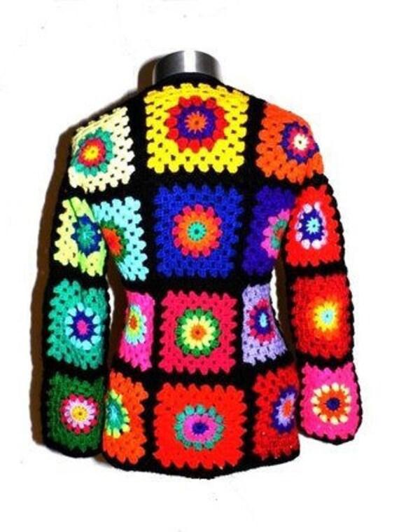 Oma Platz Pullover Gypsy Pullover Häkeln Pullover Häkeln Etsy