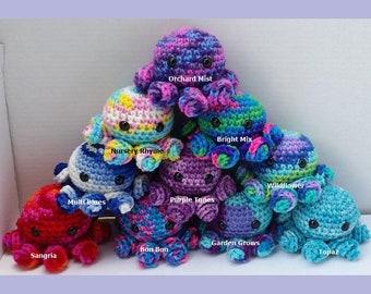 Handmade Crochet Octopus, Amigurumi, Stuffed Animal, Octopus, Stuffed Octopus, Toy,  Mother's Day Gift, Gift Idea, Stress Reliever, Summer