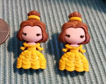 Beauty and the Beast & Friends Large Stud Earrings