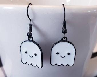 Halloween Emoji Dangle Earrings