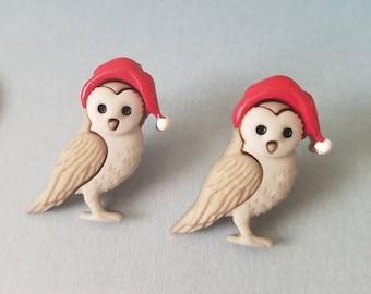 Holiday Woodland Friends Stud Earrings