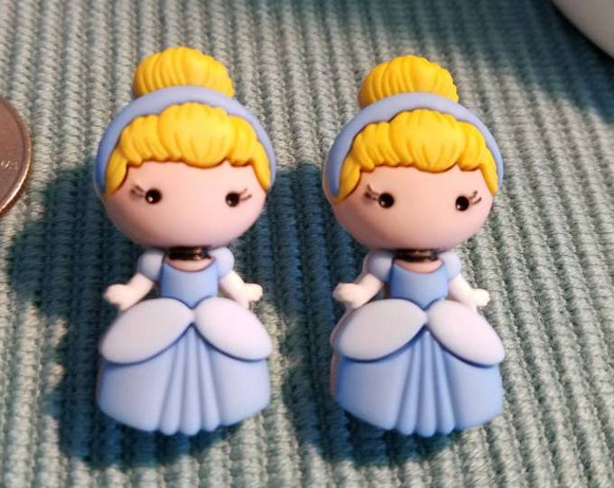 Cinderella and Friends Large Stud Earrings