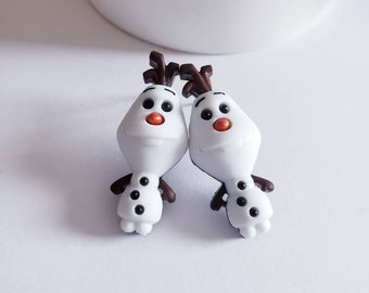 Frozen Friends Stud Earrings