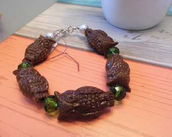 Fairytale Owl Bracelet