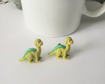 Dino - Mite Dinosaur Stud Earrings