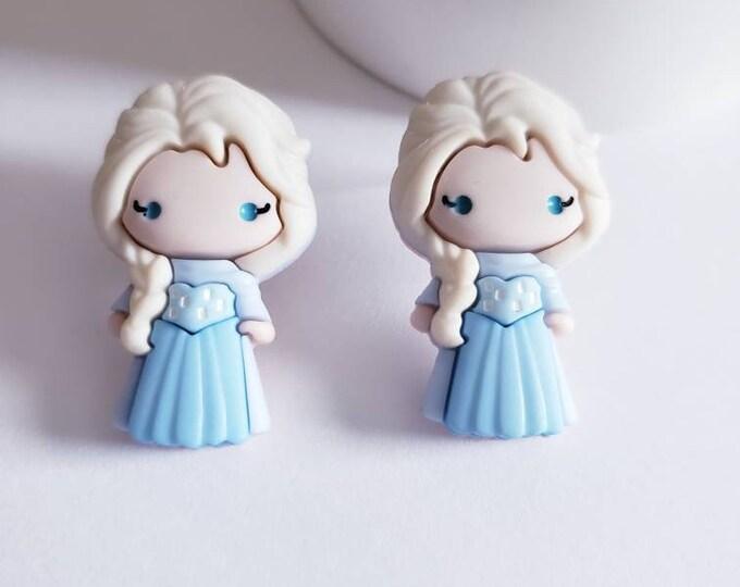 Frozen Friends Stud Earrings