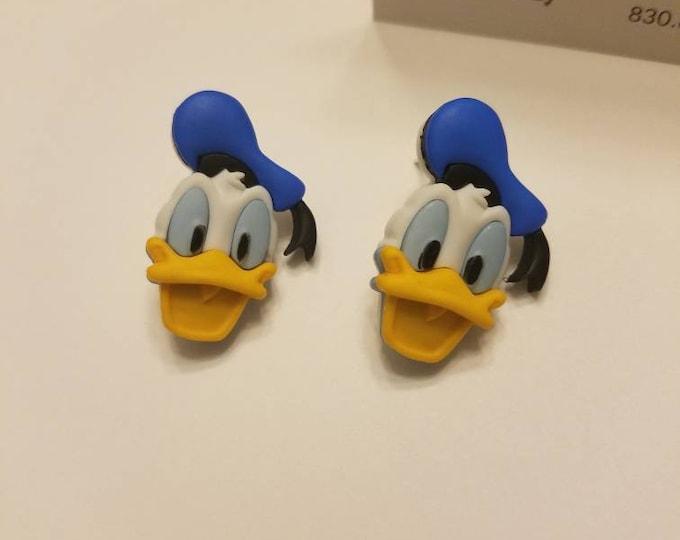Disney Donald Duck Stud Earrings