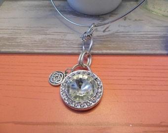 Celtic Crystal Choker Necklace