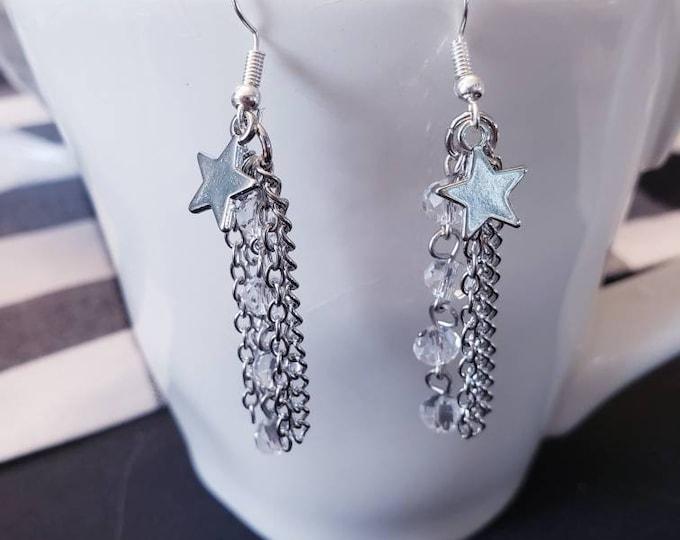Crescent Moons & Stars Earrings
