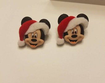 Disney Holiday Mickey and Friends Stud Earrings