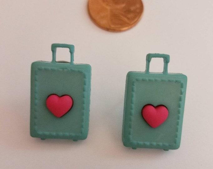 Travel Stud Earrings