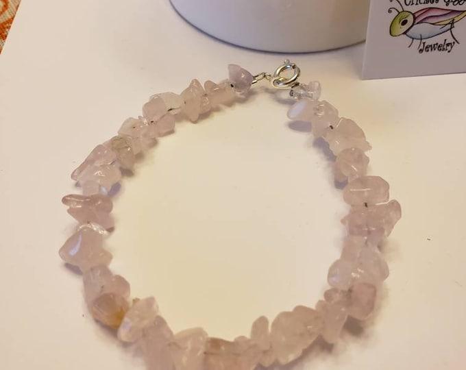 Tumbled Natural Stone Bracelet