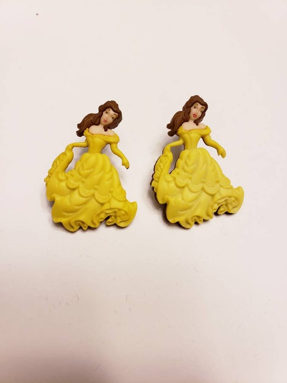 Classic Beauty and the Beast Large Stud Earrings
