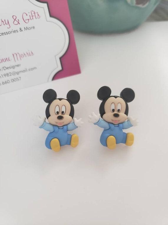 Disney Baby Mickey and Friends Stud Earrings