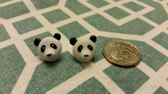 Jungle Safari Animals Button Stud Earrings