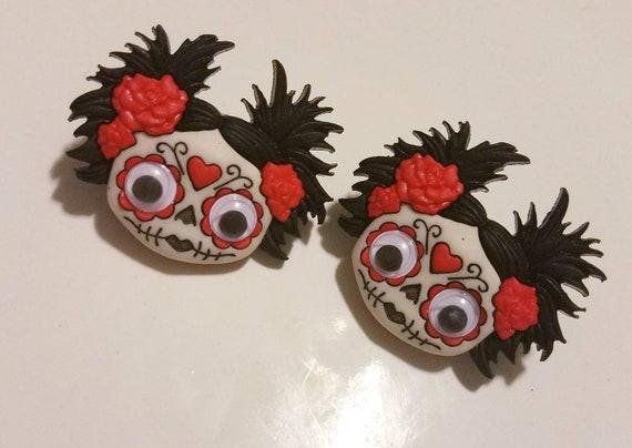 Zany Zombie Stud Earrings