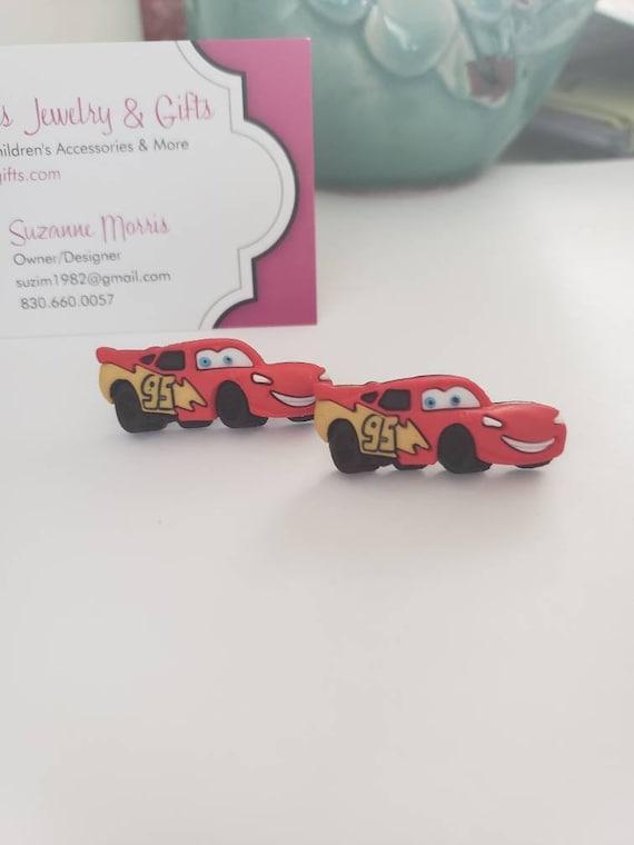 Disney Cars Lightning McQueen & Mater Stud Earrings